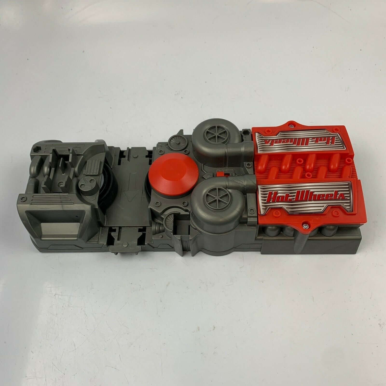 Primary image for Mattel Hot Wheels Track Power Booster Car Launcher Gray and Red 2018 GGF92 Works