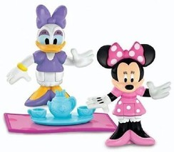 Fisher Price Mickey Mouse Clubhouse Classic Minnie & Daisy Figures w Acc... - $22.99
