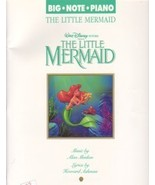 The Little Mermaid Big Note Easy Solo Piano Alan Menken - $12.95