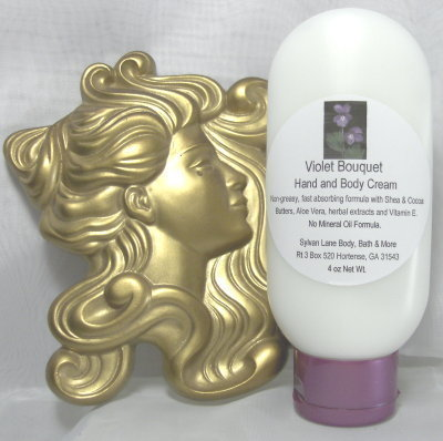 Violet Bouquet Scented Hand & Body Cream 4oz Tube