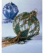 Y308 Bead PATTERN ONLY Beaded Simply Smashing Ornament Cover Pattern - $15.95