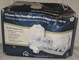 Homewerks Worldwide 10B42WYCH1BZ Chrome Two Handle Lavatory Faucet image 8