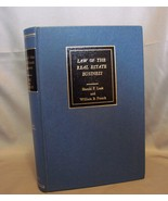 Law of the Real Estate Business by Harold F Lusk 3rd Ed 1975 New - $5.69