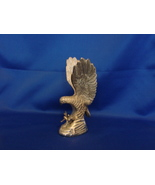 "Hampshire 5"" Tall Silver Plated Eagle Sculpture Decorative Figurine (Pre... - $4.99"