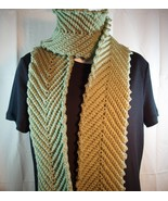 Hand crocheted scarf - $18.00