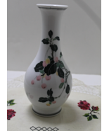 Vintage Chinese Porcelain LILING CHINA Cherry design Vase - $15.00