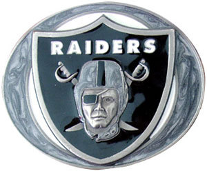 Oakland Raiders Belt Buckle