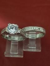 Amora 2k Engagment Wedding Ring Set - 5.75 - $45.00