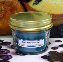 Blueberry Muffin 4 oz. Jelly Jar Candle - $5.25