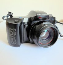 Olympus OM-101 POWER FOCUS Film Camera, Battery Tested - $33.00