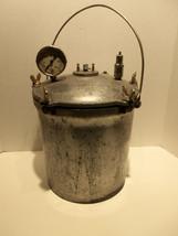 Vintage National Fairy 14 Quart Steam Pressure Cooker Canner w Gauge Bol... - €128,91 EUR