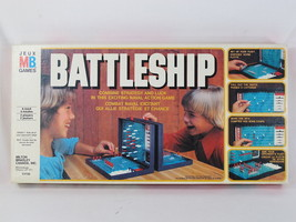 Battleship 1978 Classic Naval Combat Board Game 100% Complete Bilingual - $28.17