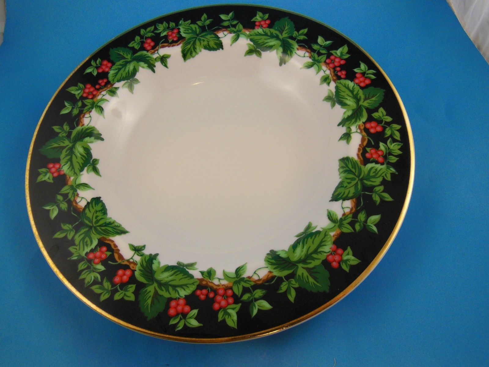 Waverly Holiday Bouquet Soup Cereal  Bowl  Christmas Made in Poland - $5.93