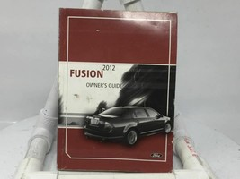 2012 Ford Fusion Operator Owners Manual User Guide W373G - $29.39