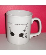 Leigh Rubin Cartoon Coffee Mug Plus Matching No... - $11.95