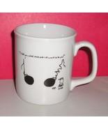 Leigh Rubin Cartoon Coffee Mug Plus Matching Notepad - $11.95