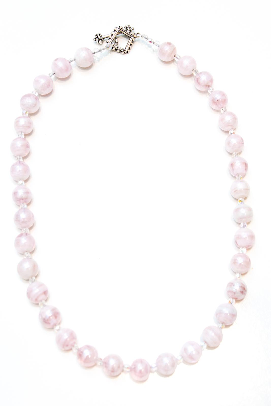 doorheart jewelry icy pink necklace necklaces pendants