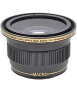 0.38x Pro Series Wide Angle Fisheye Lens For Sony Alpha a5000 a6000 w/16... - $39.99