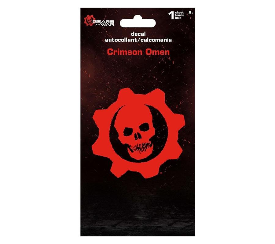Gears Of War 5 Crimson Omen Decal by SandyLion