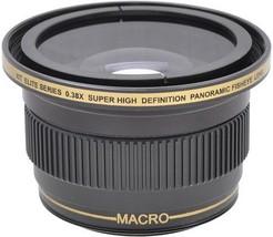 0.38 X Wide Angle Fisheye Lens For Sony Nex 7 Nex 5 Nex 5 N Nex 5 R Nex 3 Nex C3 - $39.99