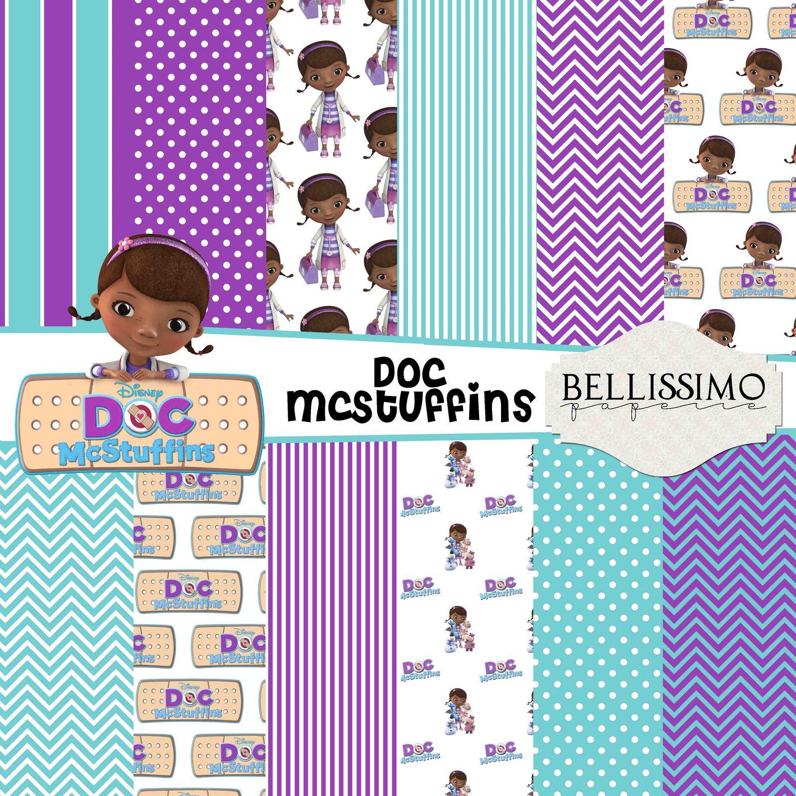Doc mcstuffins paper package
