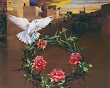 Crown of thorns cross stitch pattern thumb155 crop