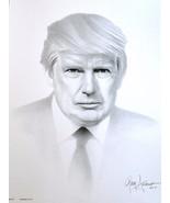 Donald J Trump - 45th President of the United States Portrait Gary Sader... - $25.00