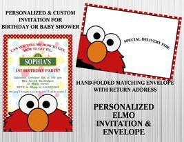 Elmo invitation   envelope thumb200