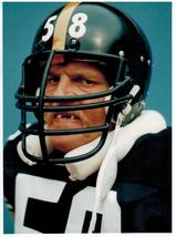 Jack Lambert Pittsburgh Steelers Vintage 8X10 Color Football Memorabilia... - $5.99