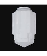 Art Deco Light Shade Lamp 6 X 16.5 SkyScraper P... - $179.95