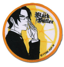 Black Butler 2 Claude & Contract Round Iron on Patch GE44526 *NEW* - $9.99