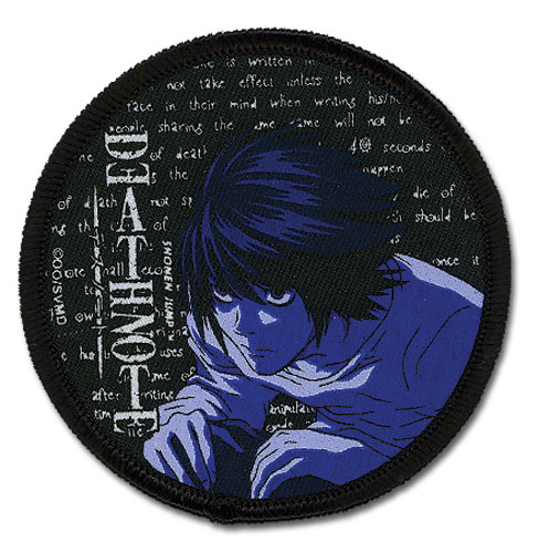 Death Note L Iron on Patch GE7274 *NEW* - $7.99