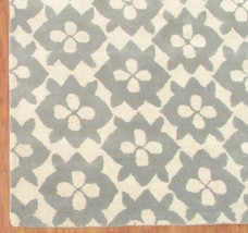 Diamond Basic Porcelain Blue 3' x 5' Handmade Persian Style 100% Wool Area Rug - $209.00