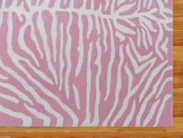 Kids Zebra Pink 5 X8 Handmade Persian Style Woolen Area Rug - $369.00