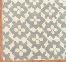 Diamond Basic Porcelain Blue 4' x 6' Handmade Persian Style 100% Wool Area Rug - $299.00