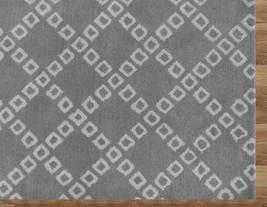 Lattice Squares Gray 8' X 10'handmade Persian Style Woolen Area Rug - $599.00