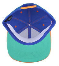 Young & Reckless LA Block Royal Blue Orange Snapback Baseball Hat Cap NWT image 7