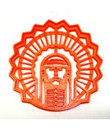 University of Illinois Chief Illiniwek Fighting Illini Cookie Cutter USA... - $2.99