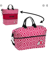NEW Logo Brands NCAA Expandable Tote Red/White Utah Utes - $36.00