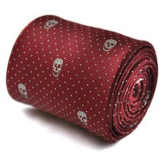 GRANATA TESCHI Cravatta da uomo Frederick Thomas goth emo Sherlock Holme... - $24.22