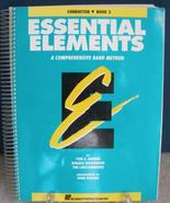 Essential elements 2000 - Book 2 - Conductor - $12.00