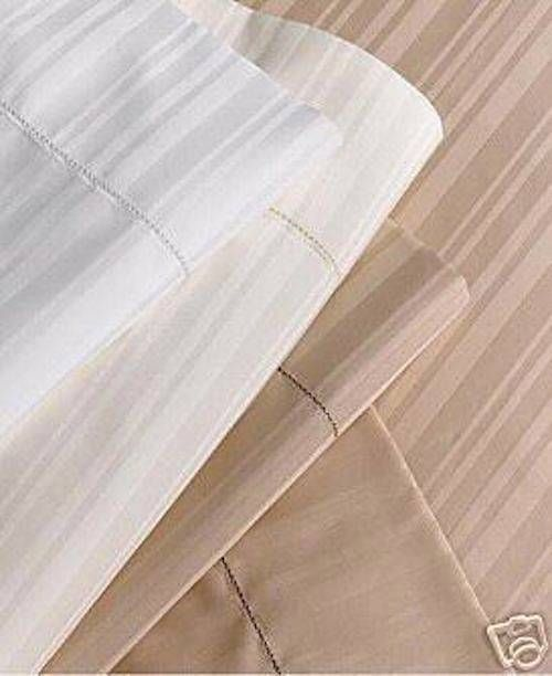 NEW HOTEL COLLECTION CHAMPAGNE STANDARD SHAM OR PILLOWCASE 460 TC THREAD COUNT