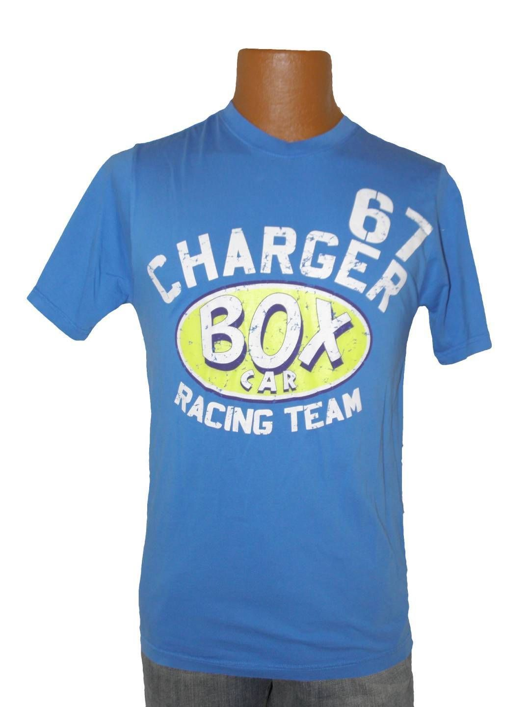 NEW MENS RING OF FIRE VINTAGE BOX CAR RACER TEAM CHARGER 67 TEE T SHIRT S SMALL