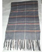 V Fraas super soft scarf fringed at ends acrylic Germany - $9.00