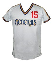 John Bapst #15 Georgia Generals New Men Football Soccer Jersey White Any Size image 1