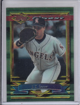 1994 Topps Finest Anaheim Angels J.T. Snow card #157 - $4.00