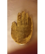 Patrick Meyer Hand Soap Dish in Gold - $98.50