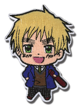 Hetalia World Series England Iron On Patch GE83512 *NEW* - $7.99