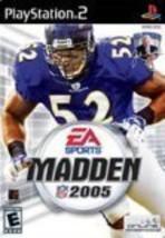 Madden NFL 2005 [Playstation] [PlayStation2] - $4.85