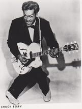 Chuck Berry 2S 5 1957 Vintage 8X10 BW Jazz Music Memorabilia Promo Photo - $5.99